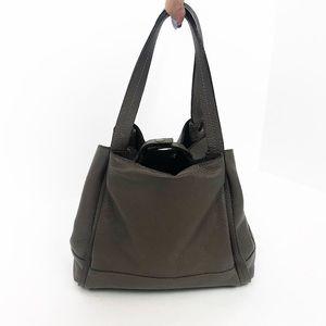 SUNDANCE Catalog Brown Pebble Leather Bag